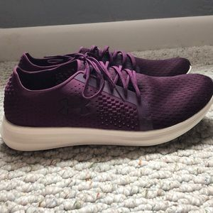 Purple Women's Under Amour Running Shoes